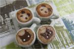 Panda and Cat Cappuccinos
