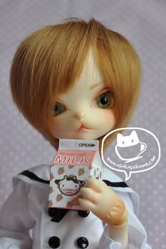 Ayame's favourite strawberry milk