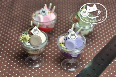 Scale 1:3 Miniature Parfaits