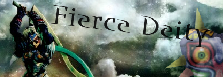 Fierce Deity Banner by Poisonpikachu40