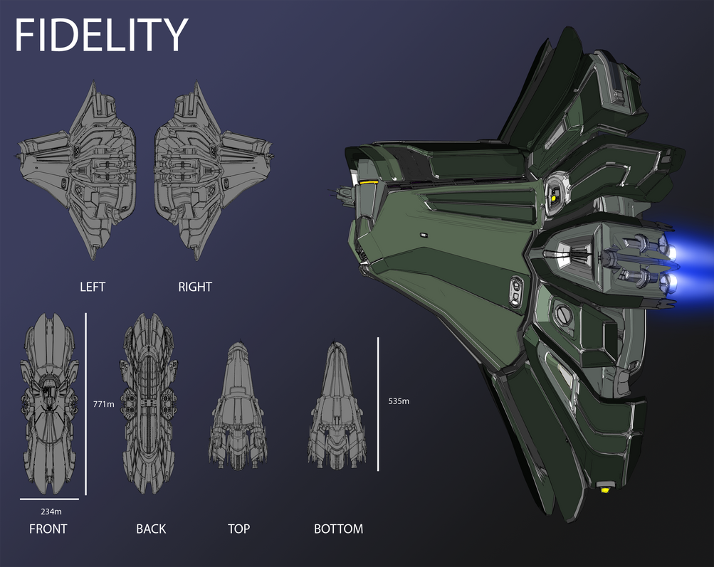 EVE Online Contest - Fidelity by Abyssal-Specter