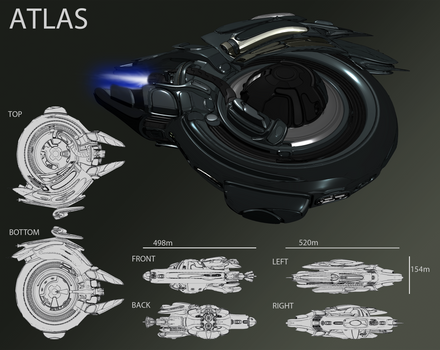 EVE Online Contest - Atlas by Abyssal-Specter