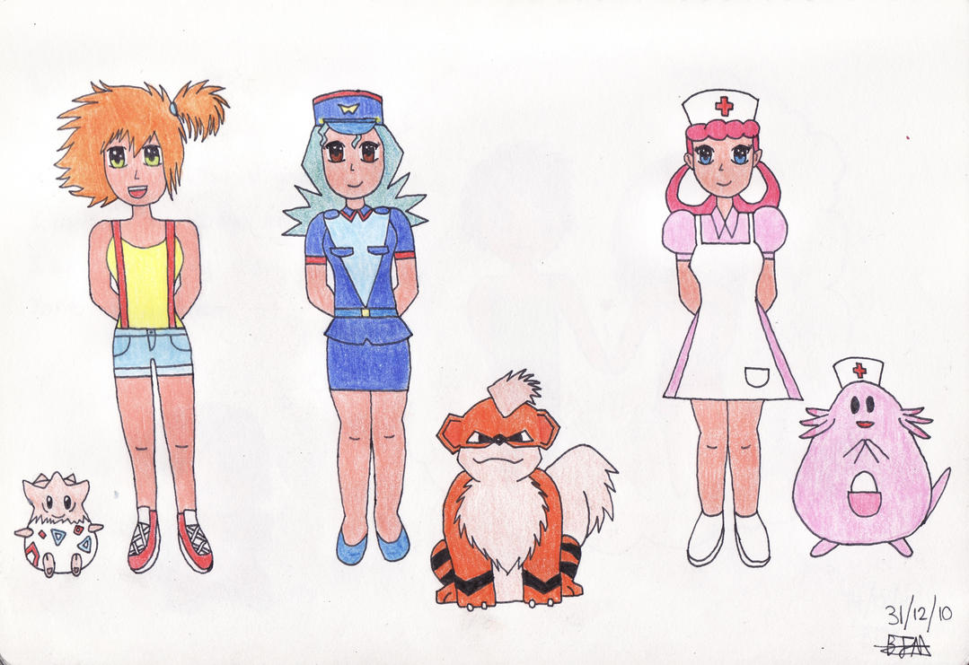 .Pokemon Girls. by dancefever92