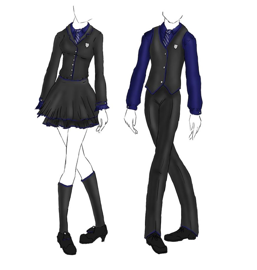 Uniform Ravenclaw By Kaoticdragonflyer On Deviantart
