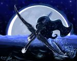 A Millenias Worth Moonrise