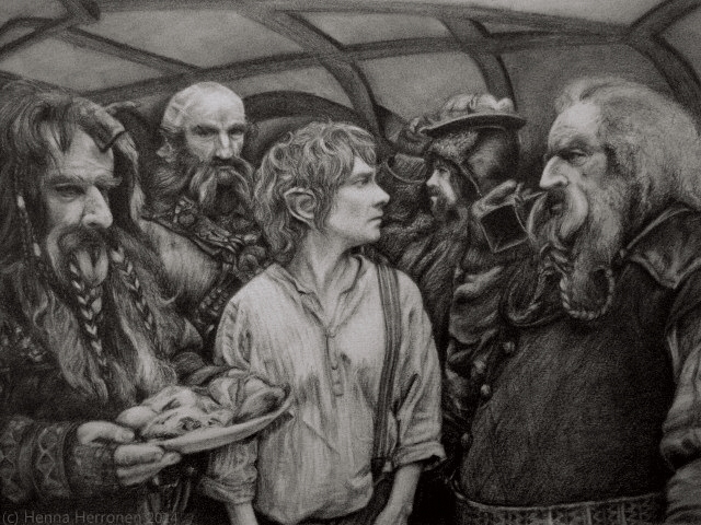 The Hobbit by ParadizeLily