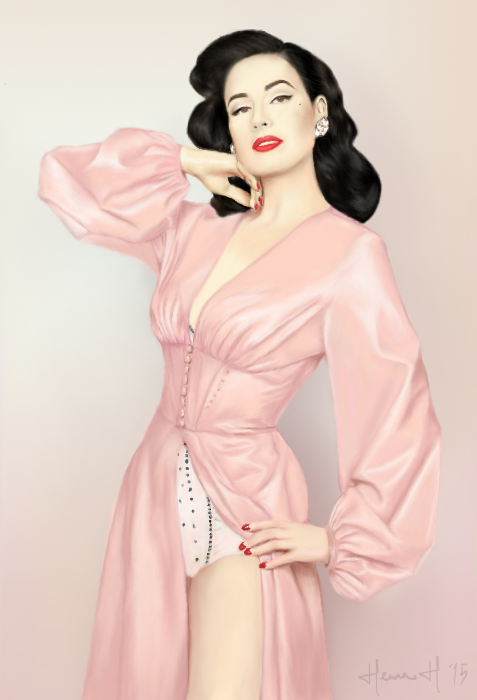 Dita Von Teese by ParadizeLily