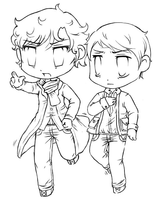 sherlock 2010 coloring pages - photo#1