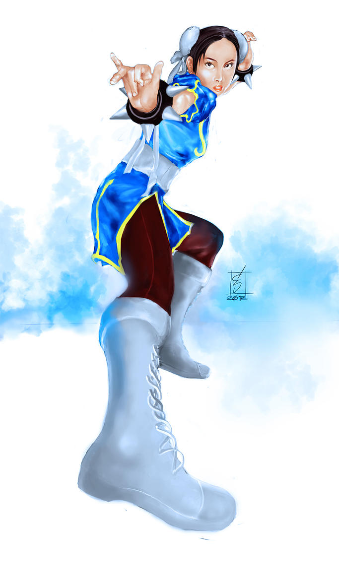 Chun-Li by Art2DiTotoo