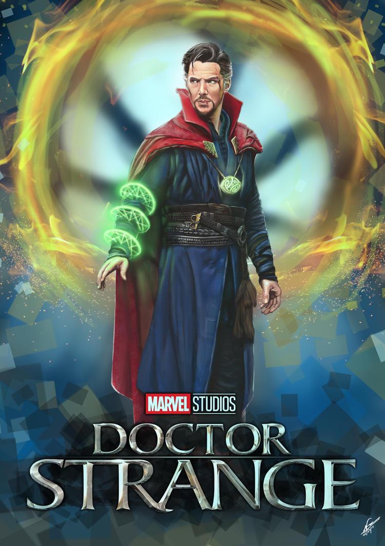 Doctor Strange by zybbniewan