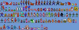 NES Character Sprites