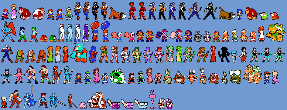 The gallery for --> Classic Nintendo Characters