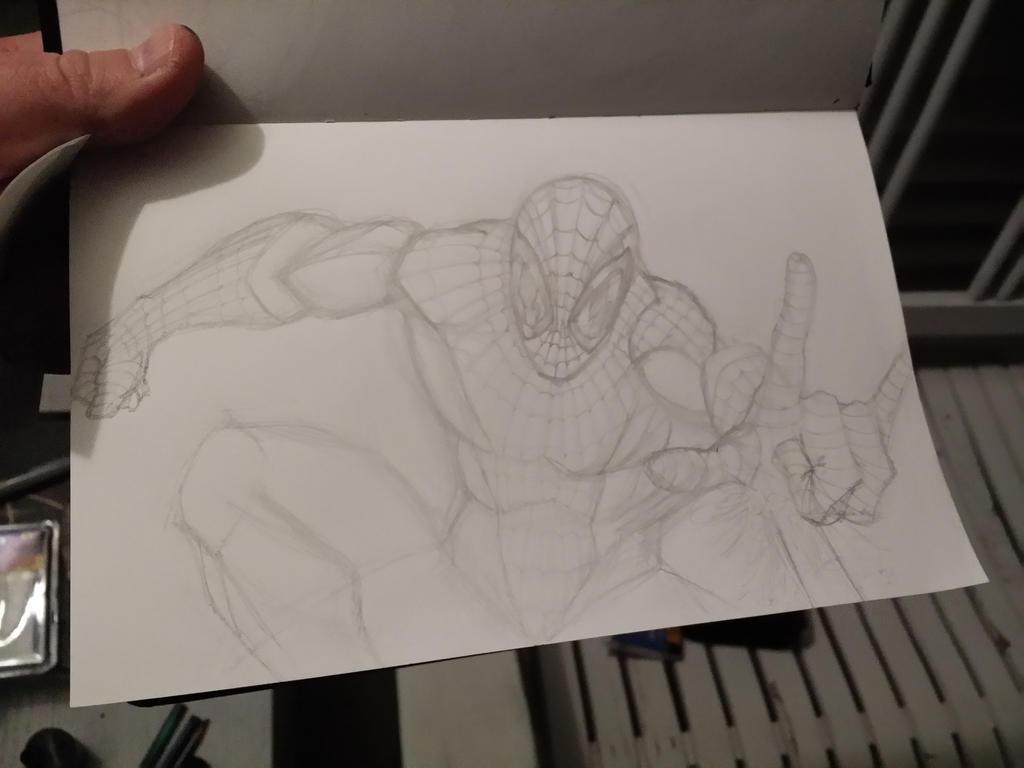 SPIDEY. Sketch.  by IJoshLawson