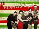 Big Bang Theory Holiday Wallpaper