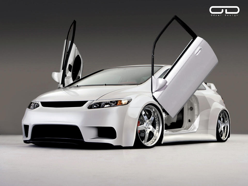 Honda Civic Si by odyar
