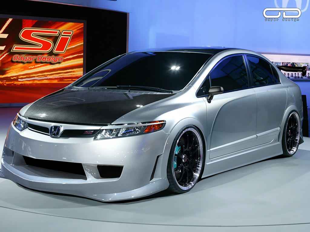 Honda Civic Si Concept By Odyar ...