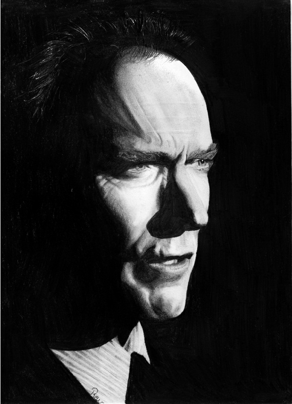 Clint Eastwood by ravdenmark