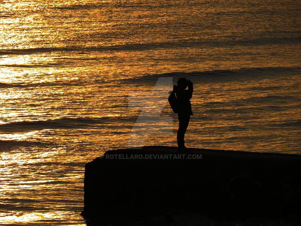 Light on the sea by rotellaro