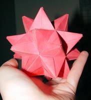Oragami Star by xelasminin
