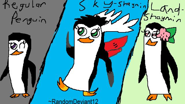 The Forms of Marie The Penguin by RandomDeviant12
