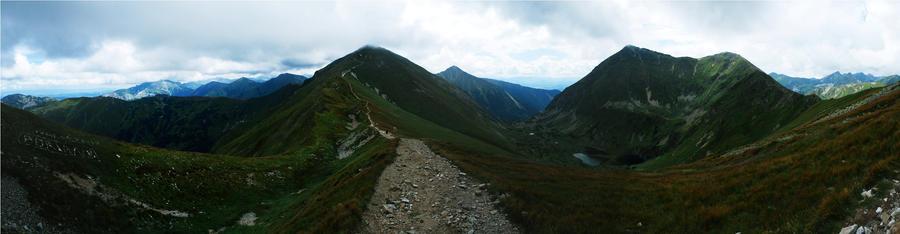 The Tatra Mountains by wahadlowy