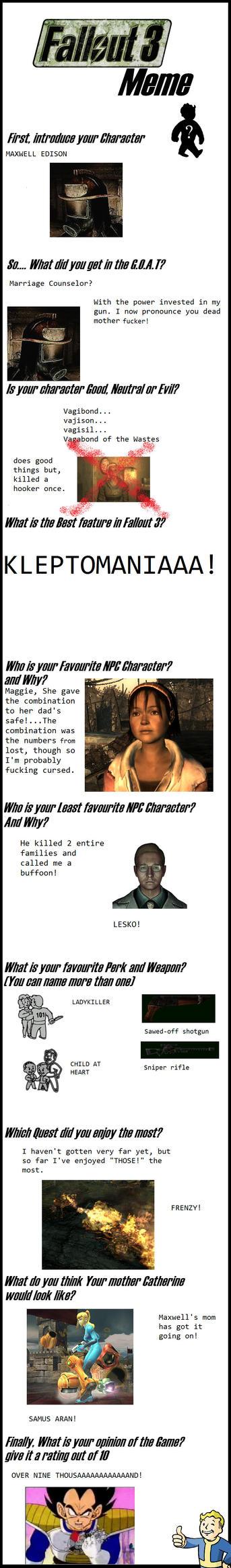 Fallout meme by Thatrealycoolguy