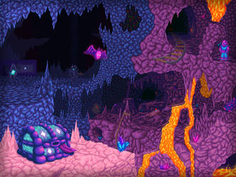 Dangerous Caverns by KoopaKing1