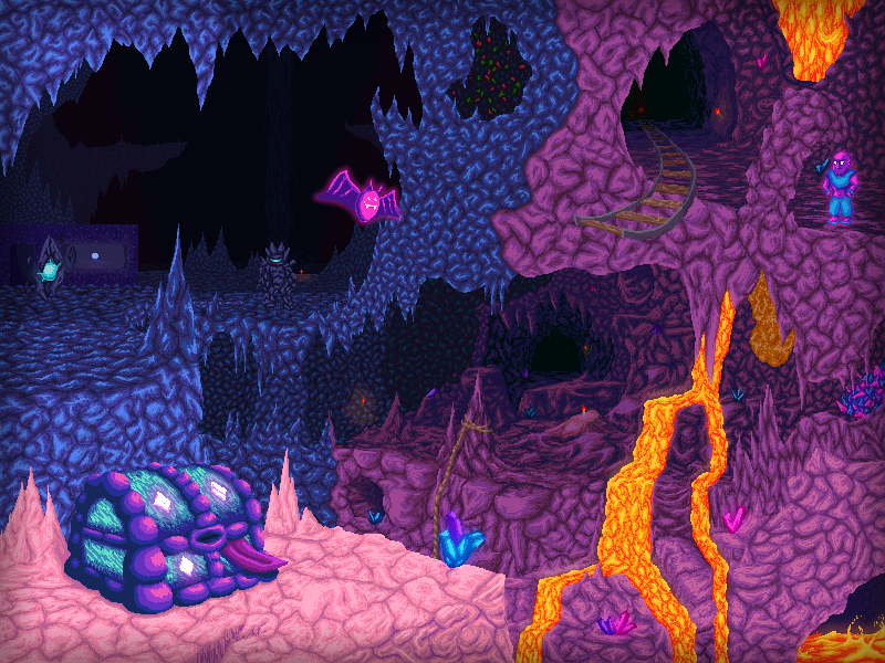 Dangerous Caverns By Koopaking1 On Deviantart