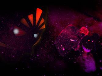 Space Masks (in space) by KoopaKing1