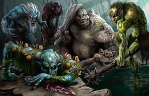 Trolls of Hellfrost by chriskuhlmann