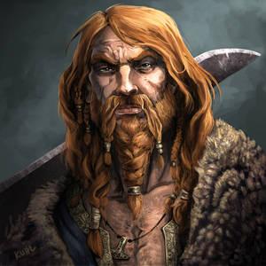 Egil, Thane Uthred's Huskarl