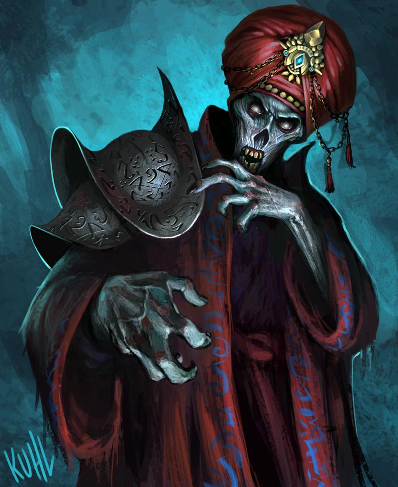 Liche Vizier by chriskuhlmann