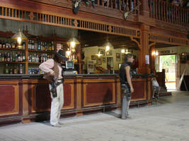 Western country saloon 4 by Nestaman