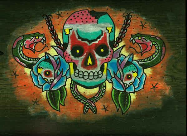 skulls and snakes by joogerson