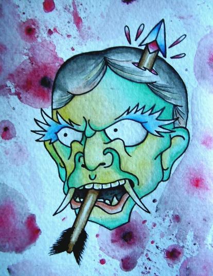 arrow face by joogerson