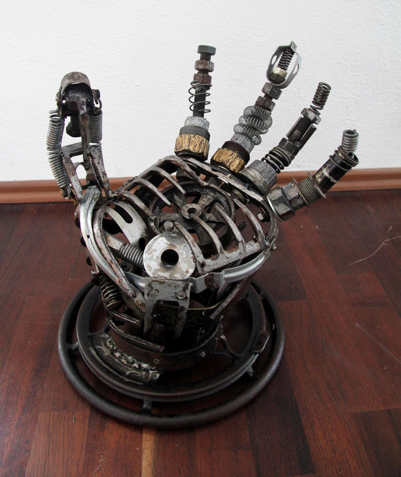 metal hand by frequenzlos on deviantart