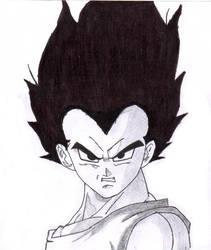 Prince-Vegeta black-version by Zinny-chan