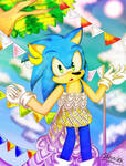 Recycle Uniform Sonic by JRZKung