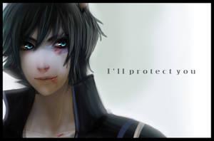 I'll Protect You - FanArt by Kikanemimi