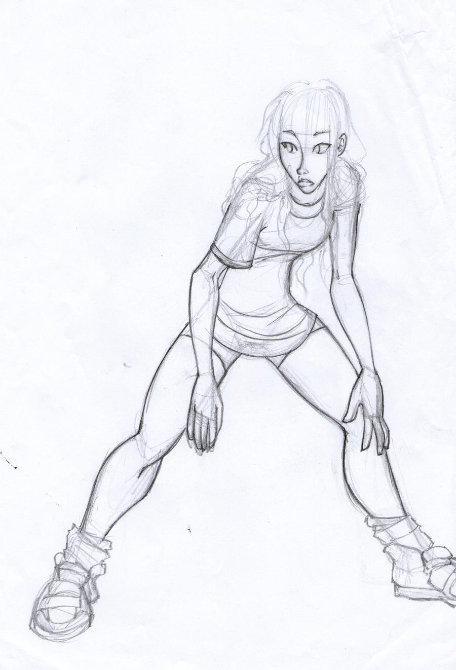 sketches Voley by MagicianEpicArtist