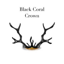 Black Coral Crown by theawesomeidea