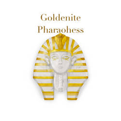 Goldenite Pharaohess by theawesomeidea