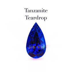 Tanzanite Teardrop by theawesomeidea