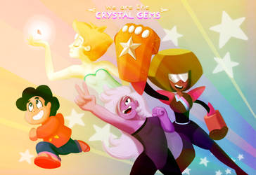 We Are the Crystal Gems by theawesomeidea