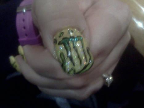 nail art monster energy drink