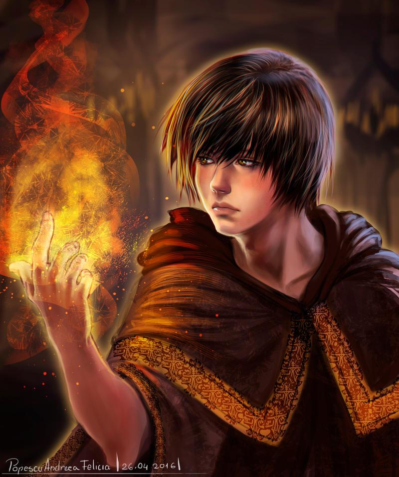 Sorcerer by Shilozart