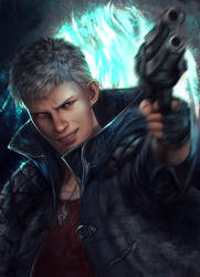 DMC 5 Nero by Shilozart