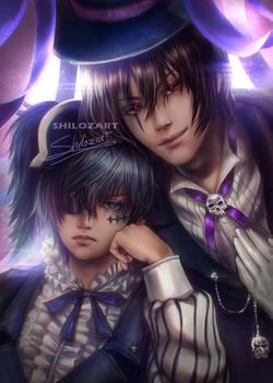 Sebastian x Ciel [ Kuroshitsuji ( Black Butler ) ]