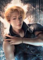 Chris Strife - [Stray Kids],[Final Fantasy] by Shilozart