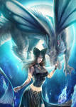 Fantasy Dragon Commission